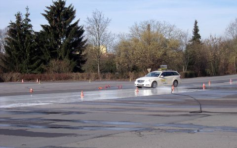 Fahrsicherheitstraining – 2014