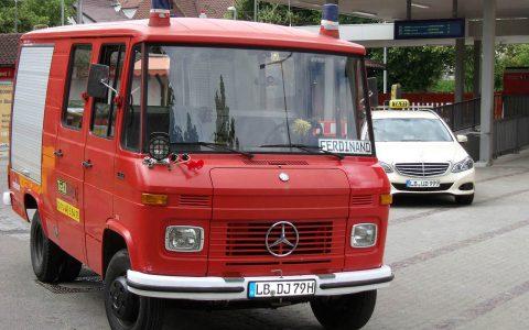 Ferdinand und Marbacher Taxi in Marbach am Bahnhof – 2013